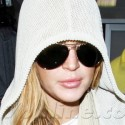 Lindsay Lohan And Her Brother At LAX