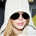 Lindsay Lohan Escapes LA