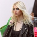 Taylor Momsen Wears Huge Boots For A Photo Shoot