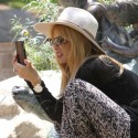 Rachel Zoe Takes Her Son To The Park