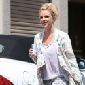 Britney Spears Heads To The Dance Studio