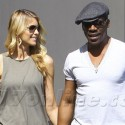 Eddie Murphy Hangs Out With His New Lady Love