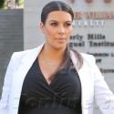 Kim Kardashian Has A Wardrobe Malfunction