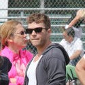 Ryan Phillippe And Reese Witherspoon Show Support At Their Kid's Game