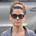 Sandra Bullock Hangs Out With Her Son