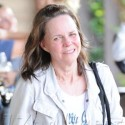 Sally Field Leaves An Exercise Class