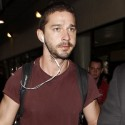 Shia LaBeouf Jets In From London