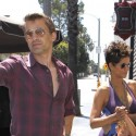 Halle Berry And Olivier Martinez Get Lunch At Riva Bella