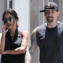 Benji Madden And Girlfriend Hedi Gores Hang Out In Hollywood