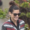 Sandra Bullock Receives Early Mother's Day Gift