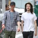 Andrew Garfield And Tom Sturridge Hang Out In N.Y.C.