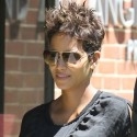 Halle Berry Hangs Out With Daughter Nahla