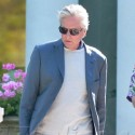 Michael Douglas Leaves His Hotel In Cannes