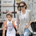 Sarah Jessica Parker Walks Her Son To School