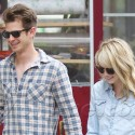 Emma Stone And Andrew Garfield Hold Hands In NYC