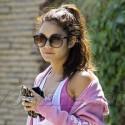 Vanessa Hudgens Looks Pretty In Pink