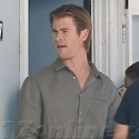Chris Hemsworth Shoots Scenes For <em>Cyber</em>