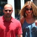Jason Statham And Rosie Huntington-Whiteley Go Grocery Shopping