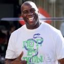 Magic Johnson Vacations In St. Tropez