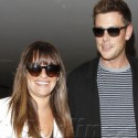 Lea Michele And Cory Monteith Are Lovebirds At LAX
