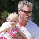 Eric Dane Spends The Day With The Ladies In His Life