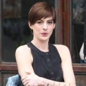 Anne Hathaway Shoots <em>Song One</em>