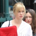 Ireland Baldwin Heads To A Meeting In NYC