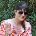 Selma Blair Goes For A Walk With Her Son
