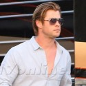 Chris Hemsworth Shoots His Latest Film