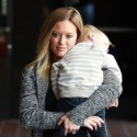 Hilary Duff And Luca Attend Mommy-And-Me Class