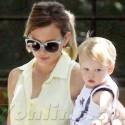 Here Comes The Sun! Hilary Duff Runs Errands With Sleepy Baby Luca