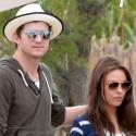 Mila Kunis And Ashton Kutcher Get Cozy In Saint Tropez