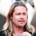 Brad Pitt Lets His Hair Down In Moscow