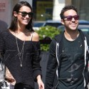 Pete Wentz And Girlfriend Meagan Camper Stock Up On Wine