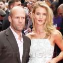 Rosie Huntington-Whiteley Steals Boyfriend Jason Statham's Spotlight At <em>Hummingbird</em> Premiere