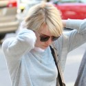 Emma Stone Grabs Lunch With Judd Apatow
