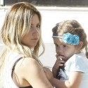 Ashley Tisdale And Niece Mikayla Shop For Shoes