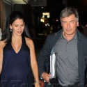 Hilaria and Alec Baldwin Hold Hands in New York City