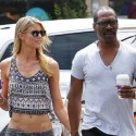 Eddie Murphy And Paige Butcher Hold Hands While Getting Coffee
