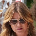 Ellen Pompeo And Her Daughter Hang Out