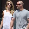 Rosie Huntington-Whiteley And Jason Statham Hold Hands While Shopping