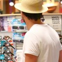 Leonardo DiCaprio Goes Shopping On Independence Day