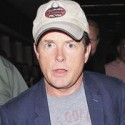 Michael J. Fox Arrives At LAX