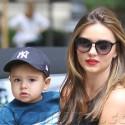 Miranda Kerr And Her Son Take A Walk In NYC