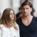 Olivia Palermo Goes For A Stroll With Her Boyfriend