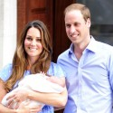 First Photos Of Kate Middleton And Prince William's Son