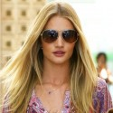 Rosie Huntington-Whiteley Steps Out Of The Salon