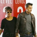 Halle Berry And Olivier Martinez At A Medical Building