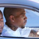 Chris Brown Takes His Whip For A Spin