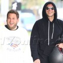 Bradley Cooper And Jonah Hill Share A Laugh